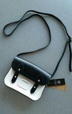 The Cambridge Satchel Company Tiny Satchel Black & Clay Real Leather NWT