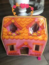 Lalaloopsy Mini Dolls Storage Carry Along Playhouse Carrying Case Fantastic!
