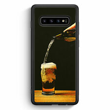 Bierglas Bier Samsung Galaxy S10 Silikon Hülle Motiv Design Jungs Herren Männ...