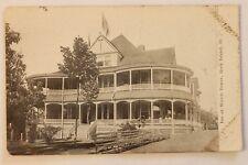 Old postcard INN AT WATCH TOWER, ROCK ISLAND, ILLINOIS