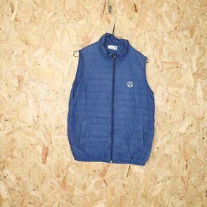 NORTH SAILS Gilet Puffer Jacket Coat Blue | Medium M