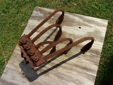 Antique Garden Weeding Cultivating Cultivator Head Gardening Vegetable vtg Hoe