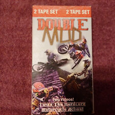 Vtg. Double Mud VHS 2pk. Motorcycle Action! 94min.by Jeffrey B. Grubert 1997
