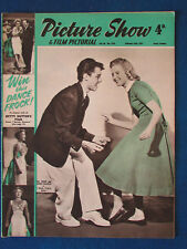 Picture Show Magazine - 23/2/1957 - Sal Mineo &  Susan Volkman Cover