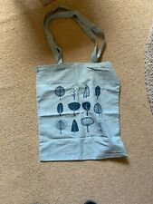 BNWT All Over the World Tote Bag Shopper Cotton leaf/flower pattern NEW