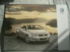 VW Eos range brochure 2010 USA market Spanish text