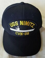 U.S. NAVY USS NIMITZ CVN-68 Military Ball Cap