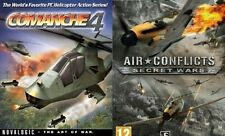 Comanche 4 & air conflicts secret wars      new&sealed