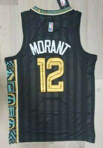 NEW Limited Ja Morant Men's Jersey Memphis # 12 Black Swingman Rare NWT