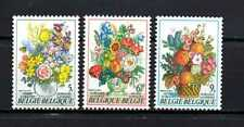 Belgium - Belgique - België MNH n° 1966/1968 complete sets Flowers - Fleurs