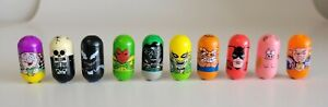 2003 Marvel Mighty Beanz Series 1 Lot of 10 W/ Rare Editions Flagman, Burnout