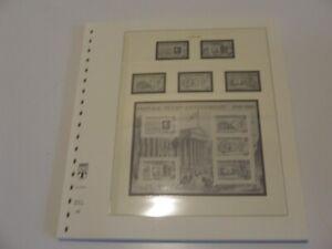 GUERNSEY, LINDNER 1990-95 ILLUSTRATED & HINGELESS STAMP ALBUM PAGES, EXCELLENT