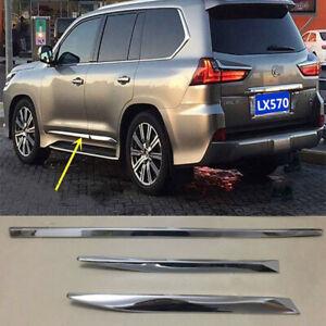 For LEXUS LX570 2018 4pcs Auto ABS Door Body Anticollision Strip Covers