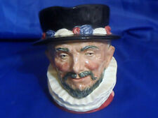 Vintage 1946 Royal Doulton Character Jug Beefeaters Large Toby Mug Pitcher