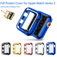 Full Protective Cover for Apple Watch Series 3 Case Front Screen Protector Film