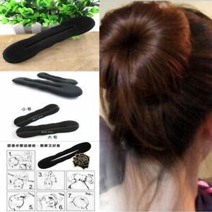 Fashion Women Sponge Hair Twist Styling Clip Stick Bun Maker Braid Magic Tool