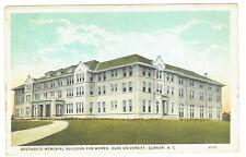 Durham North Carolina Southgate Memorial Building for Women