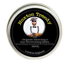 Ear Stretching and Piercing Balm Finest Organic Oils Handmade in England XL 30ML