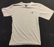US Polo Assn Boys Polo T-Shirt Short Sleeve 10/12 Gray New
