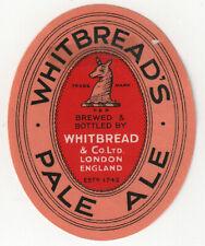 UK London WHITBREADS PALE ALE BEER VERY GOOD UNUSED