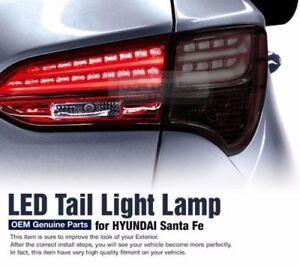 OEM Parts Tail Light LED Lamp RH Inside For HYUNDAI 2013 2014 2015 Santa Fe DM