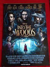Into the Woods Kinoplakat Poster A1, Walt Disney, Johnny Depp, Meryl Streep