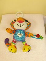 Tomy Lamaze Purring Percival - Clip On Pram and Pushchair Toy