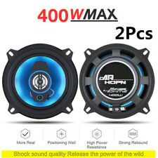 """2Pcs 5"""" 2-Way Car Coaxial Audio Music Stereo Full Range Frequency Hifi Speakers"""