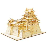 Azone Wooden puzzle kigumi Himeji castle genuine from JAPAN NEW