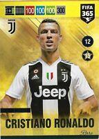 PANINI ADRENALYN XL FIFA 365 2019 CRISTIANO RONALDO RARE NO 9