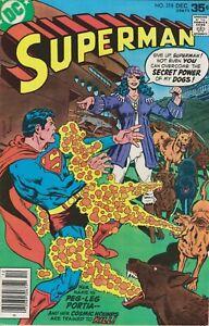 Superman #318. Dec 1977. DC. VG/FN.