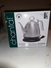 Chantal Mia Ekettle Electric Kettle, Brushed Stainless