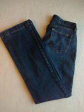 Womens Gap Jeans Long and Lean Flare Stretch Denim Blue Size 2R