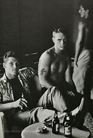 1982 Vintage BRUCE WEBER Young Military Males On Leave Waikiki Photo Art 16X20
