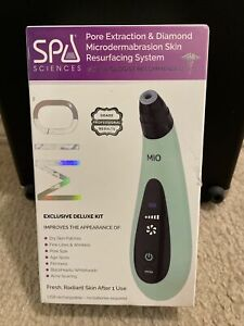 Spa Sciences MIO Diamond Microdermabrasion & Pore Extraction Device