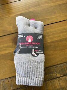 Weatherproof 2 Pack Socks Uk 4-8