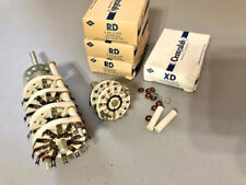 Lot of 7 CENTRALAB STEATITE ROTARY SWITCH WAFERS -- XD, RD, PA  -- all NOS