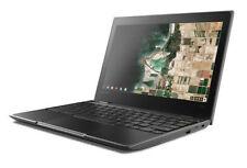 "Lenovo 100e Chromebook 11.6"" (32 GB, Intel Celeron N, 2.4 GHz, 4 GB) Convertible 2-in-1 Laptop/Tablet - Black - 81ER0002US"