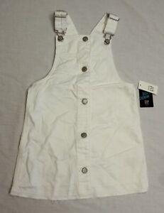 Gap Toddler Girl's Stain Resistant Skirtall CD4 White Size 4T NWT