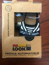 Vintage New-Old-Stock LOOK 396 Pedals w/Red ARC Cleats  BLACK