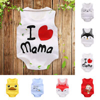 Newborn Infant Baby Cartoon Animal Cotton Romper Jumpsuit Clothes