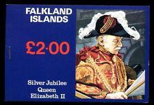 Isole Falkland. 1977 SG #sb 1 giubileo d'argento BLOCCHETTO #C 5203