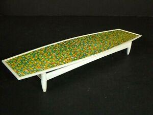 "Vtg 1963 Mattel barbie Go Together Coffee Table Mosiac 9.5"" L"