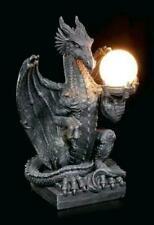Toscano Dragon Lamp - Medieval Sculptural Dragon Table Lamp Gothic