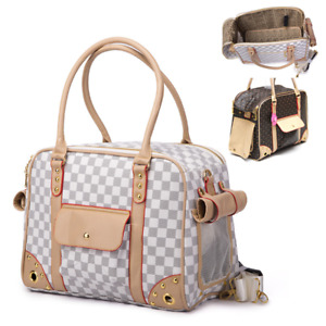 VIP Pet Dog Cat Carrier Bag Tote Outdoor Sling Travel Luggage Handbag Portable