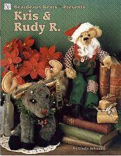 1994 Pattern Booklet Beardeaux Bears Presents Kris & Rudy R. Linda Johnson #19
