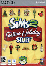 Les Sims 2 Festive Holiday Stuff Expansion Pack MAC OS 10.3.9 Jeu Neuf & Scellé
