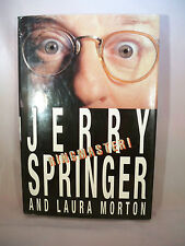 Ringmaster by Laura Morton and Jerry Springer (1998, Hardcover)
