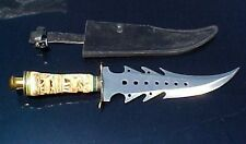 """NEW chipaway Cutlery - RADICAL MONSTER 20"""" Long  Knife with Leather Sheath"""
