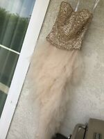 Jovani Prom Dress   Evening Gown Ball Sequin Beads Size 4